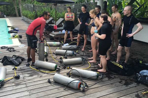 Open Water Course at Koh Chang