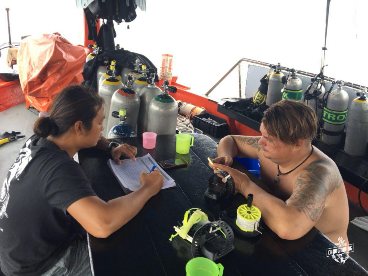 Scuba review Koh Chang